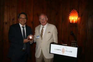 June 2018 Event - Honoree An-Ping Hsieh and Marty Budd